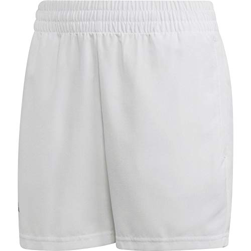 adidas Jungen Club Shorts, White/Black, 176