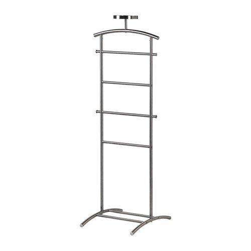 Ikea GRUNDTAL Kleiderständer aus Edelstahl; (128cm)
