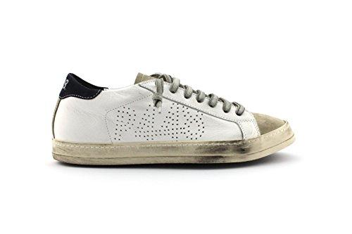 P448 , Damen Sneaker weiß Bianco Bianco