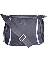 Bendly Cross Body Sling Bag (Dark Grey)