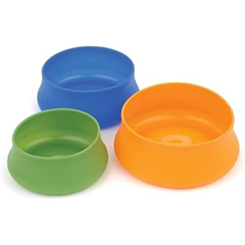 Trekmates Squishy Pet Bowl - Ciotola 1363 ml verde in silicone