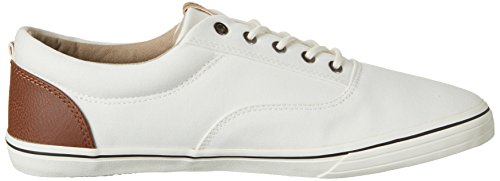 Jack & Jones Jfwvision Mixed Marshmallow, Sneakers Basses Homme Blanc Cassé (Marshmallow)