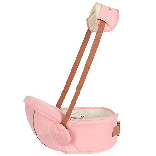 Unbekannt Baby Hüfthocker Ergonomische Babytrage mit Schultergurt, Hüfthockersitz zum Tragen von Kleinkindern,B