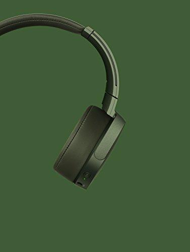 Sony MDR-XB950N1 kabelloser Kopfhörer mit Geräuschminimierung (Noise Cancelling, Extrabass, NFC, Bluetooth, faltbar) grün - 14