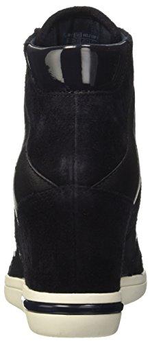 Tommy Hilfiger S1285ebille Low 24c, Sneakers Hautes Femme Bleu (Midnight 403)