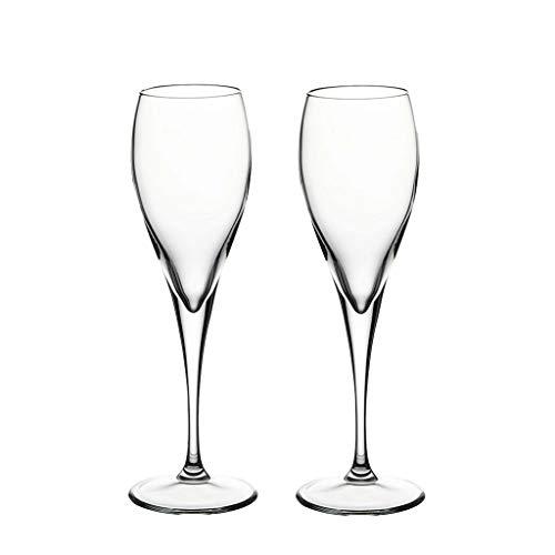 Importé Verre Verre De Champagne Doux Verre À Vin En Verre Coupe De Mariage Paire Tasse Européenne Ménage Verre À Bulles Deux Pièces JXLBB