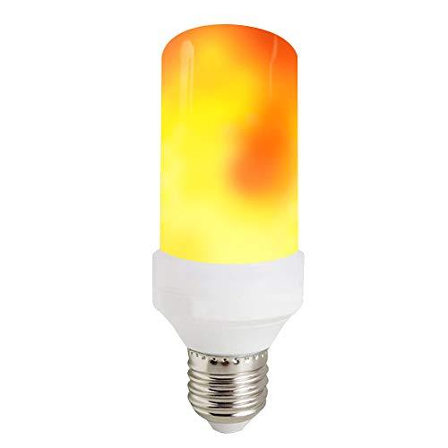 KDP LED Flamme Birne, 150Lumens, 1300K wahre Feuer Farbe, E27 Dekorative Lampe für Weihnachten, Halloween, Festival, Party, 1er-Pack