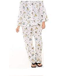 Twist Mens Viscose/Rayon Safari Print Traditional Pyjama Set Sleepwear Nightwear
