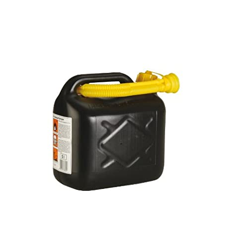Unitec 73853 Benzinkanister 5L Kunststoff, farblich sortiert (Günstig Rasenmäher)