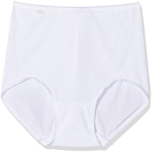 Sloggi Damen Taillenslip 24/7 Micrfib MX3P,   Weiß (White 03), 50