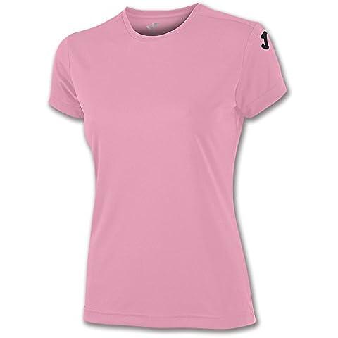 Joma - Camiseta combi mujer rosa m/c  para mujer