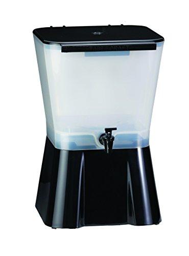 Tablecraft H9533-gallon Getränke Dispenser schwarz und klar 3 Gallon Beverage Dispenser