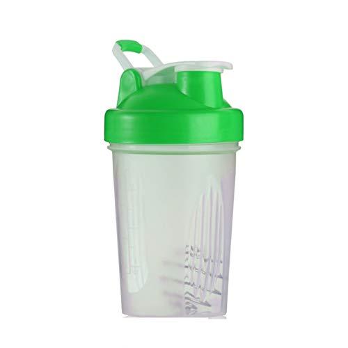 Feketeuki Handheld Design PP 400ML Gym Protein Shaker