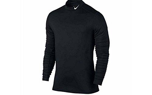 Nike Men's Training Mock Turtle Neck Shirt Nike Mock Neck