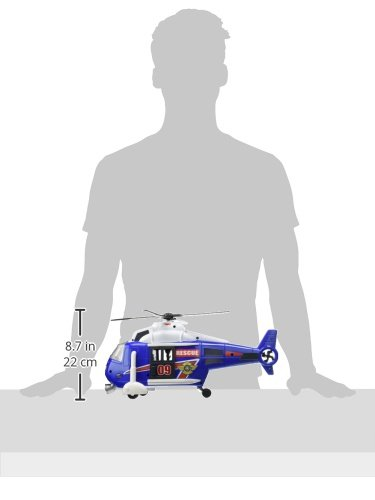 Dickie Toys 203308356 - Action Series Helicopter, Helikopter, 41 cm - 10