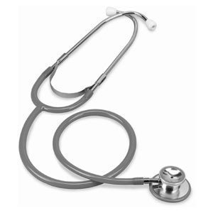 MERLIN MEDICAL GREY DUAL HEAD STETHOSCOPE GREAT QUALITY LOADS OF COLOURS THIS ONES IN GREY REVIEWS PROFESSIONAL MEDICAL SUPPLIES