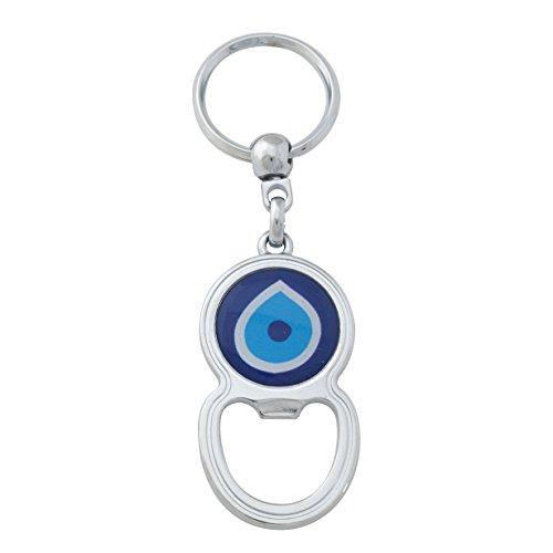 Bijou Karat Nazar Evil Eye Schlüsselanhänger Anahtarlik Kleiner Flaschenöffner Blue Eye -
