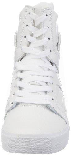 Supra Skytop 2 S01031, Sneaker uomo Bianco (Weiß (WHITE - WHITE   WHT))