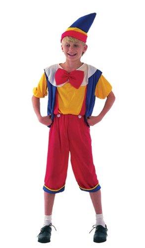 Jungen Pinocchio Kostüm Alter 6-7 (Mädchen Pinocchio Für Kostüm)