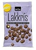 Nói Síríus Lakkris - Schokolade überzogene Lakritze mit Kokosfüllung, 150g