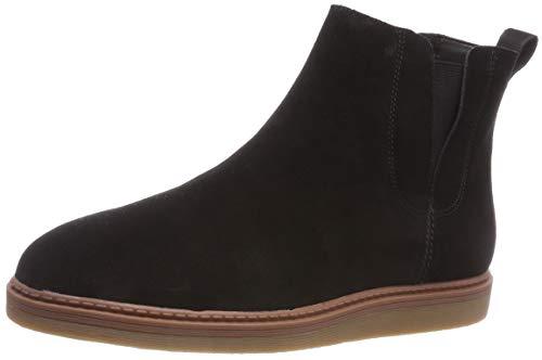 Clarks Damen Dove Madeline Chelsea Boots, Schwarz (Black SDE), 41.5 EU
