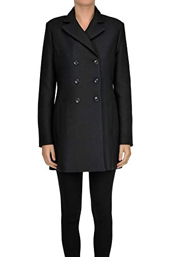 NENETTE Biliardo Double-Breasted Coat Woman Black 44 IT -