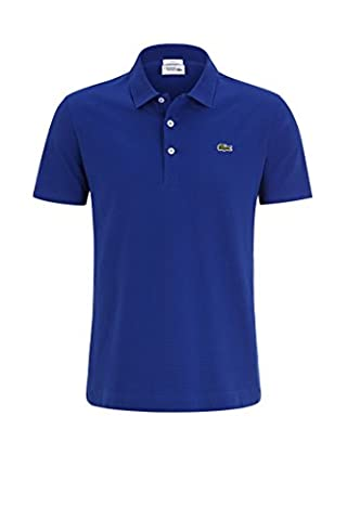 Lacoste YH4801 Herren Poloshirt L1230 SF in Slim Fit, Polohemd,
