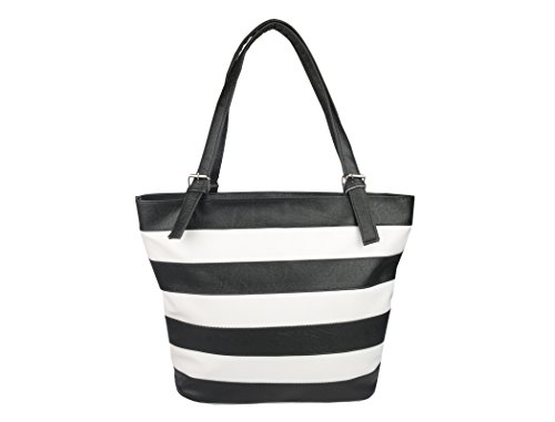 Lorna Women\'s Hand Bag (Black & White)