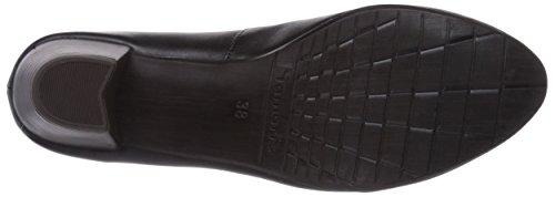 Tamaris 22305, Chaussures à talons - Avant du pieds couvert femme Noir - Noir