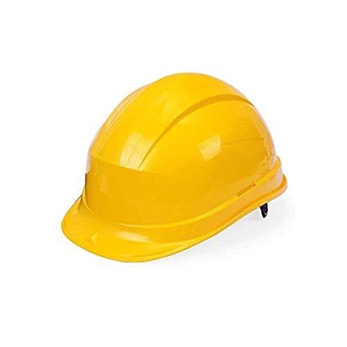 Kostüm Männlich Bauarbeiter - WYNZYSLBD Schutzhelm-Aufbau, Sicherheitsarbeits-Sturzhelm, Bauarbeiter-Sturzhelm, Industrieller Schutzhelm, Arbeitshelm-Bauarbeiter-Sturzhelm Mit Belüftung (Color : Yellow)