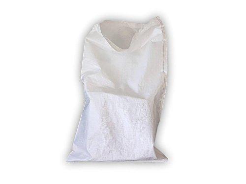 (Confezione da 30) 50x 80cm, PP polietilene tessuto sacchi in polipropilene sacco 46g di plastica pacchetto smaltimento dei rifiuti