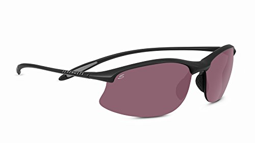 Serengeti maestrale, occhiali da sole unisex, satin black, m/l