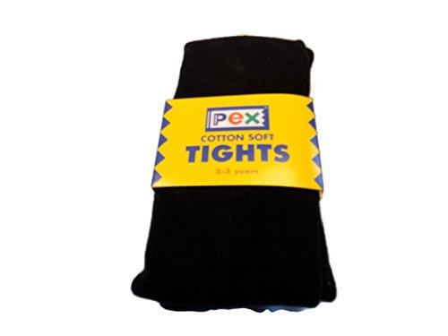 Pex Cotton Soft Tights Colour Black