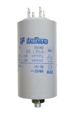 Kondensator Anlaufkondensator Motor Pumpe 20µF 20 µF uF 20uF