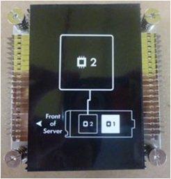 HP Enterprise Prozessorkühler - für ProLiant BL460c Gen8, 670032-001