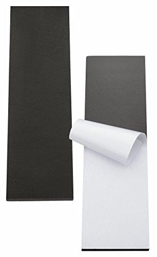 TOPP4u 2x Garagen Wandschutz, Auto Türkantenschutz Garage, je 40x12x1,5 cm - zuverlässiger Auto-Türschutz durch 2 extra dicke selbstklebende Schutzmatten, auch für Carport