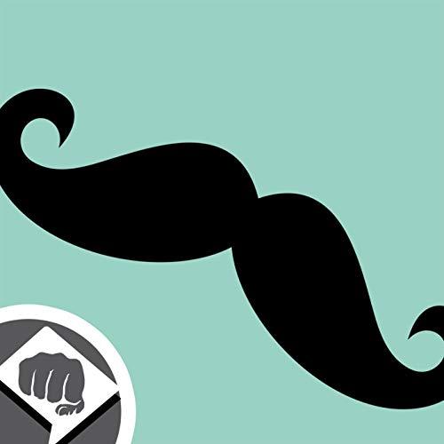 BART SCHNURRBART Moustache Mustache Aufkleber - Sticker Bomb Aufkleber Decal - schwarz oder weiss - Sticker Bombing NEU - DUB DUBWAY (schwarz)