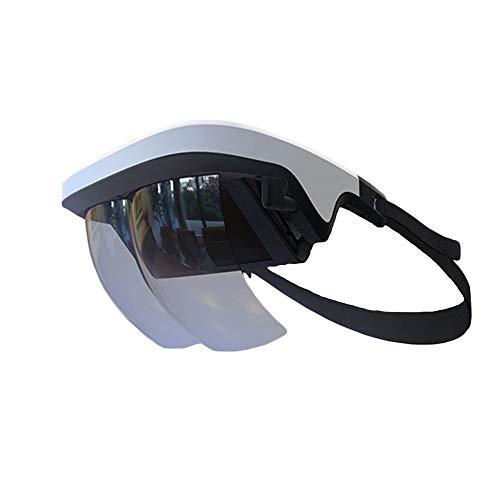 TLgf Virtual Reality Brillen, Smart AR Gläser 3D-Video Augmented Reality VR Headset für iPhone & Android (4.5-5.5 ' ' Screen), 3D-Videos und Spiele (Videos Spiel Iphone-5-controller)