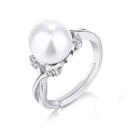 Cdet Frauen Ring Größe verstellbar Elegante Perle Ring Schmuck Love Geschenk