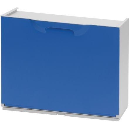 Art Plast U50/1B zapatero de plástico, azul/blanco