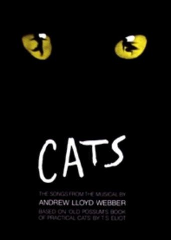 Andrew Lloyd Webber: CATS - Songbook Piano/Vocal/Guitar mit Bleistift -- Die beliebtesten Songs aus dem erfolgreichen Musical u.a. mit MEMORY arrangiert für Klavier, Gesang und Gitarre (Noten/sheet music) -
