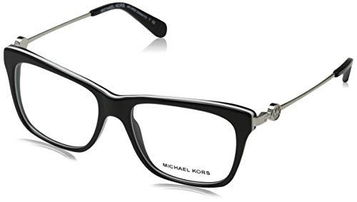 Ray-Ban Damen 0MK8022 Brillengestelle, Schwarz (Black/White), 52