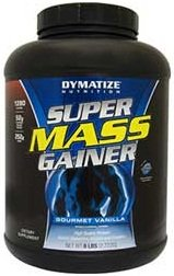 Super Mass Gainer, Cookies & Cream whey protein mass growth muscle gain mass building - 2722g by Dymatize M from Dymatize