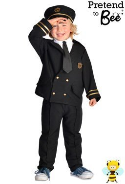 Kostüm Kids Pilot Airline - Airline Pilot - Kids Costume 5 - 7 years
