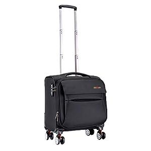 Laptop Case Trolley Porte-Documents pour Ordinateur Portable Valise de Voyage compacte Chariot à Bagages d'affaires Étanche et résistant à l'usure