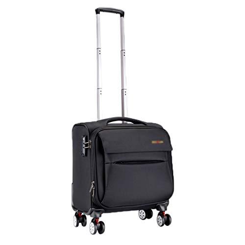 Rolling Laptop Case Maletín Compacto Overnighter Travel Totes Equipaje Business Trolley Resistente al Agua y al Desgaste