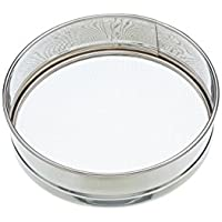 KitchenCraft Fine Mesh Tamis/Drum Sieve, 20.5 cm