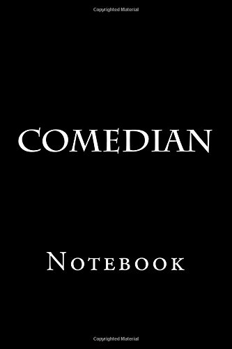Comedian: Notebook, 150 lined pages, softcover, 6 x 9 por Wild Pages Press