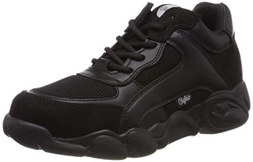 Buffalo Damen Cairo Sneaker, Schwarz (Black 000), 39 EU