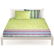 Bassetti Granfoulard.- Funda nordica Tiziano V2 verde para cama de 150